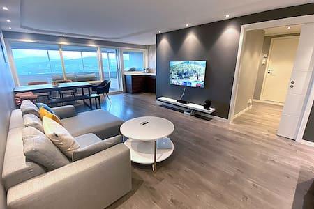 Modernized apartment close to nature, free parking