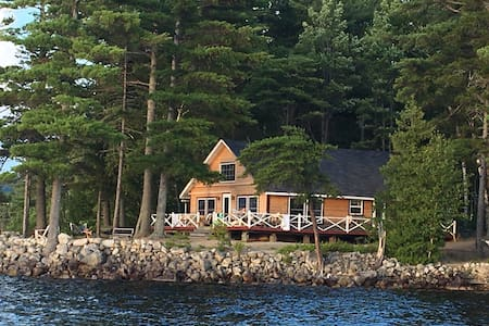 Windy Point Cottage on Ambajejus Lake