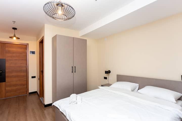 Studio Hotel Apartment In Gudauri  Near Ski Lift
