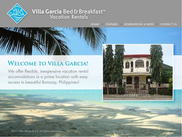 VILLA GARCIA B&B Vacation Rentals - Ibajay - House