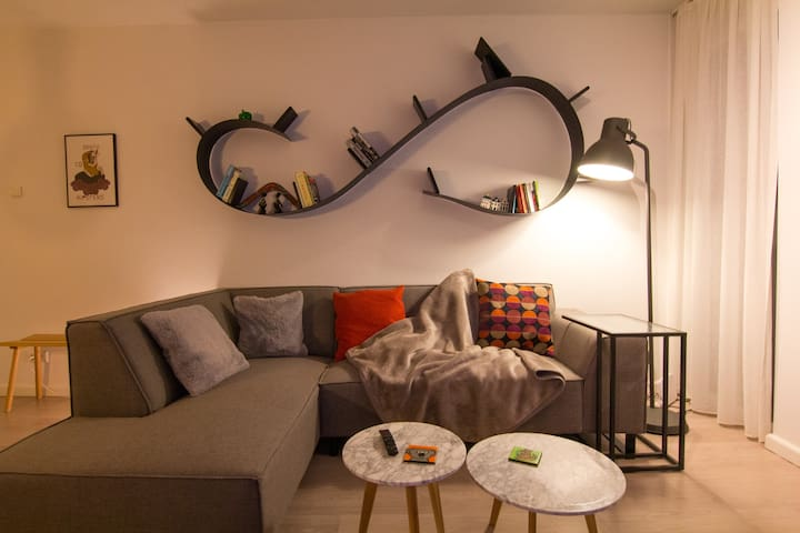 Modern Apartment with Perfect Location in Haarlem