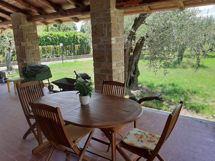 Villa incanto sul lago di Bracciano