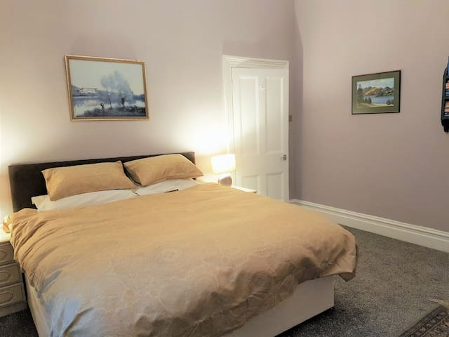 Main bedroom with super king size bed
