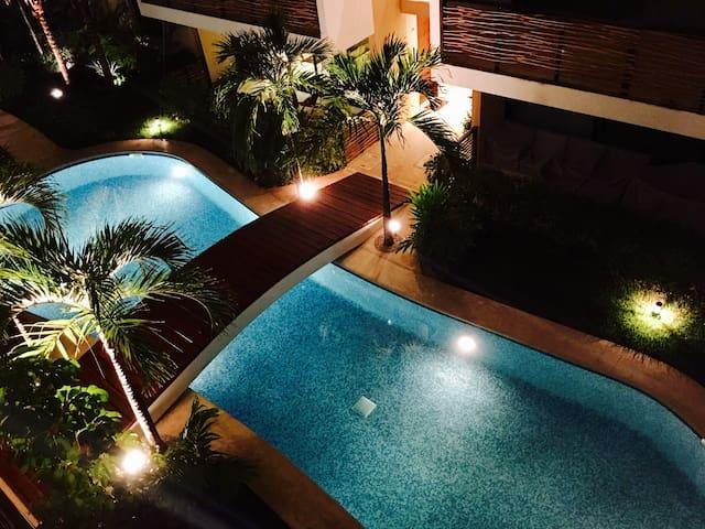 Chic & Stylish Penthouse, Encanto Tulum 1-6 guests - Leilighet