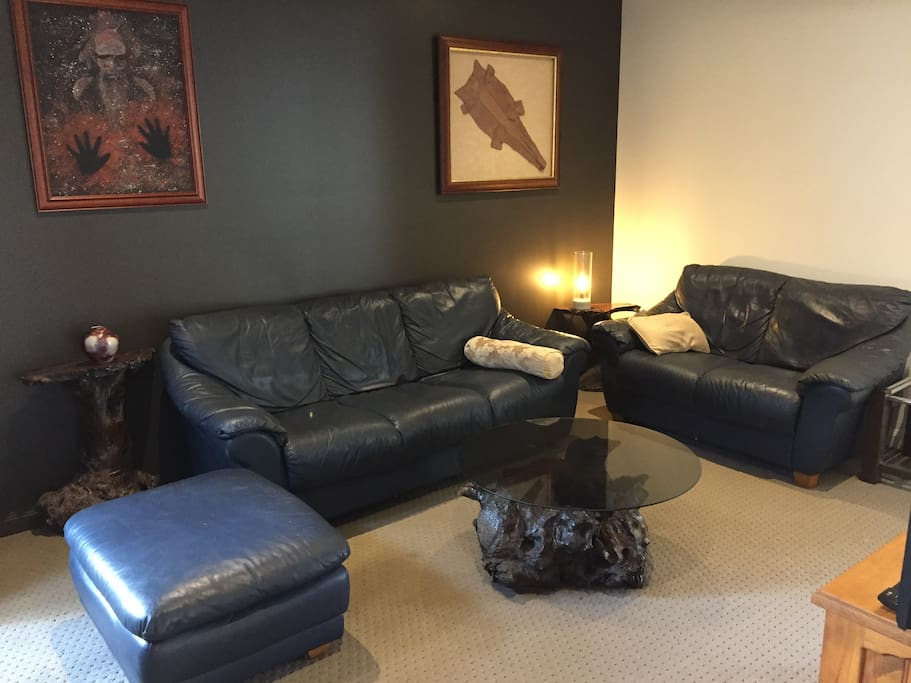 Media Room & Leather Suite