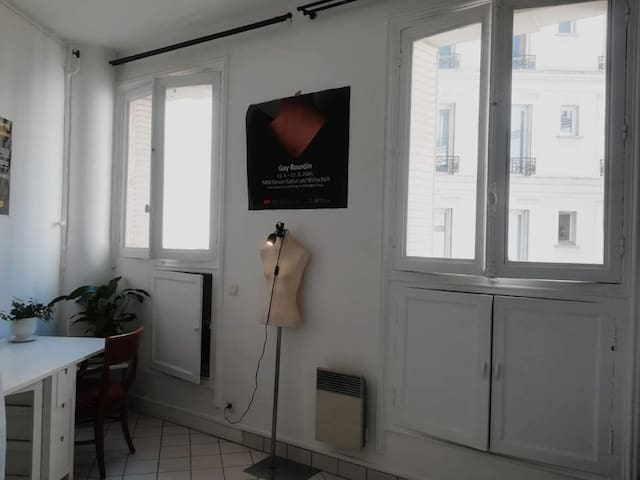 Beautiful studio in the heart of Paris