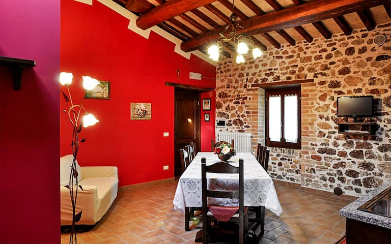 Historic 19th Century Chateau  Red Suite