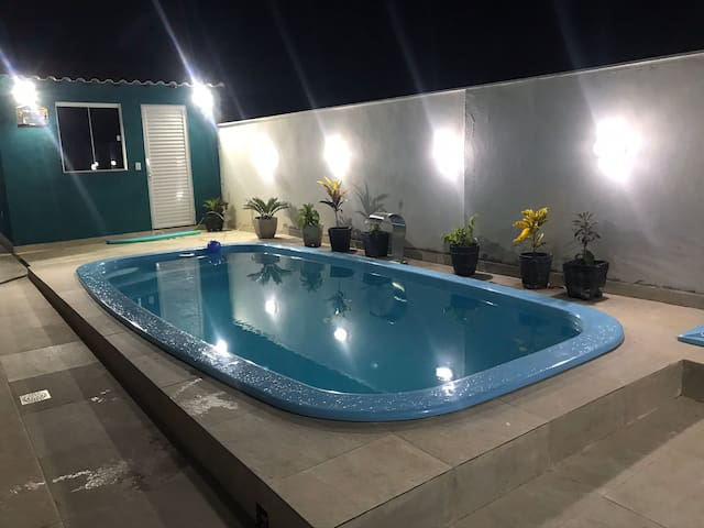 Casa com piscina !!! Pacote carnaval