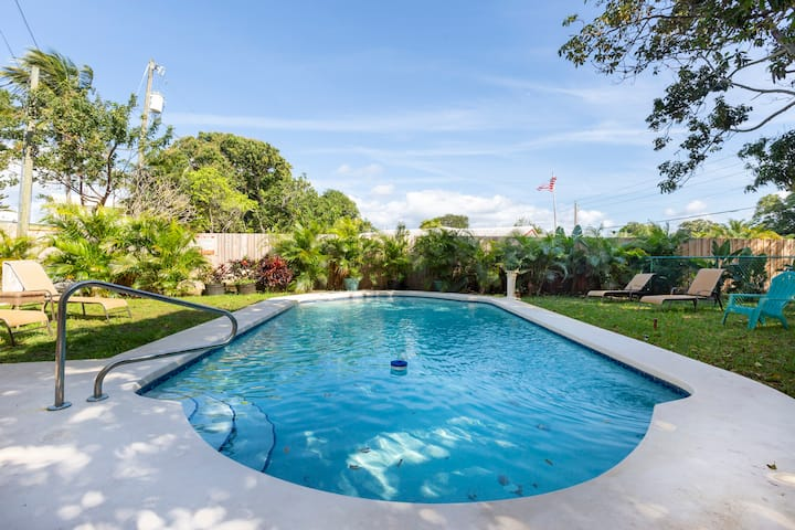 Casita Flora Near The Ocean With Pool/Jacuzzi