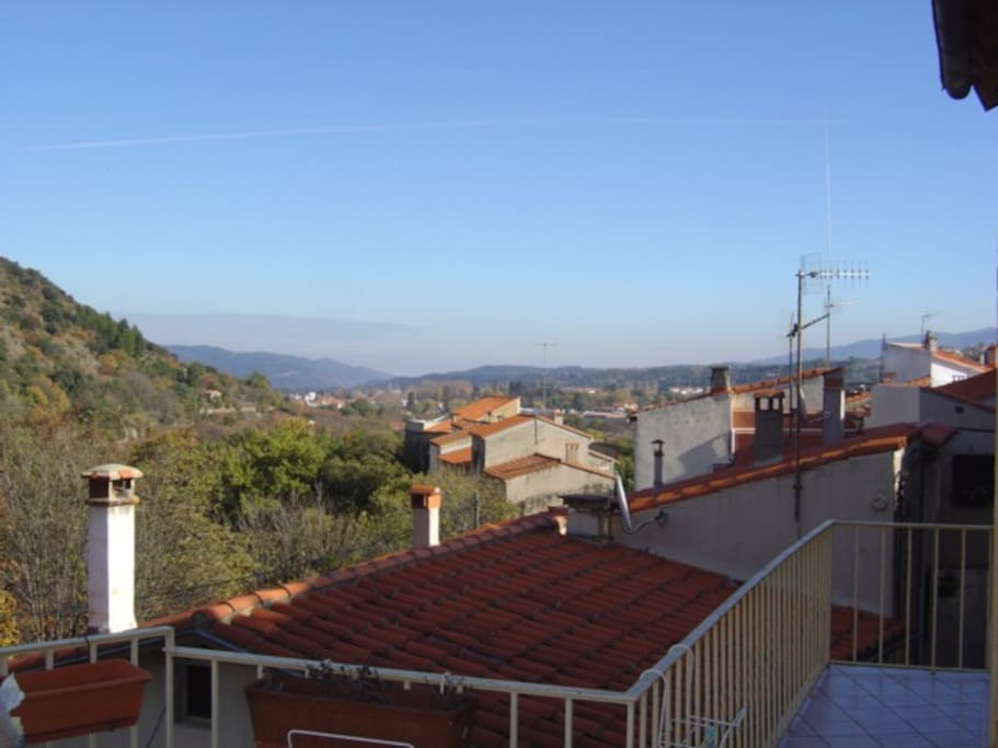 View from other terrace