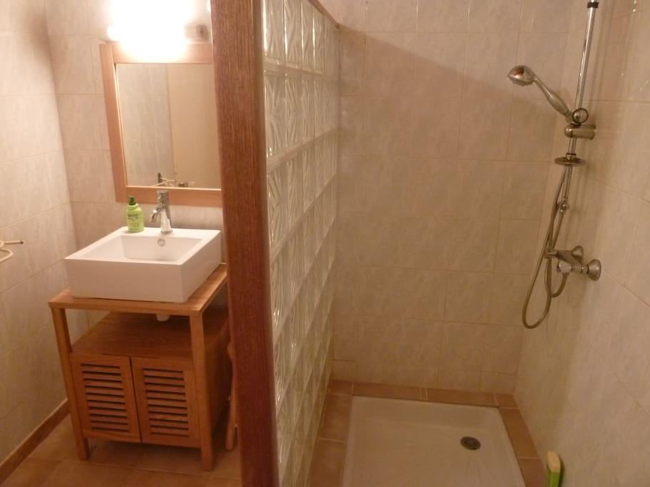Bathroom of apartment Mimosa