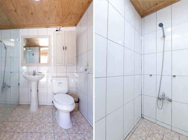 Shared Toilet & Shower 1