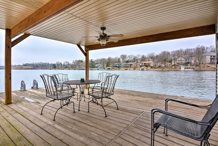 NEW! Bella Vista Home w/ Swim Deck on Loch Lomond!
