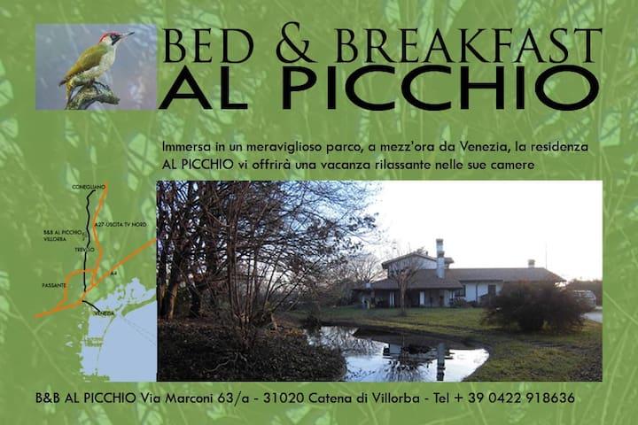 VILLA B&B AL PICCHIO - Lancenigo-villorba