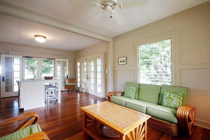 Hale Alaula Cottage  TVNC#1010 - Kekaha - บ้าน