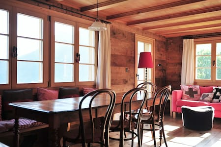 Charming chalet in carfree village