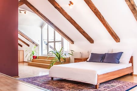 OLD TOWN ATTIC LOFT WITH TERRACES - Praha - Huoneisto