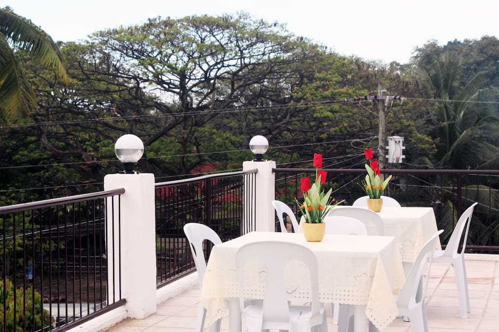 Roof Top Dining Area