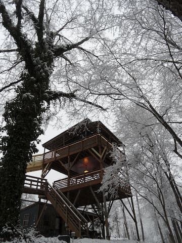 Virginia September 2017: The Top 20 Treehouses for Rent in ...