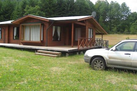 cabaña de descanso, entorno natural - Pucón