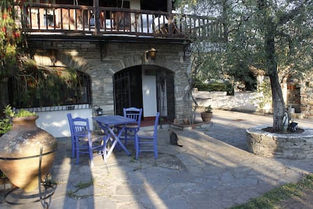 House in an olive grove, near the sea - Chalkidiki - House