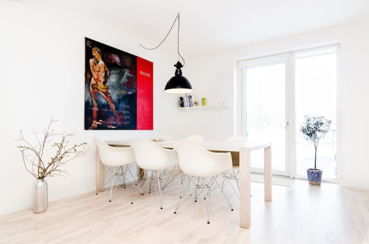 New townhouse in the center of Cph