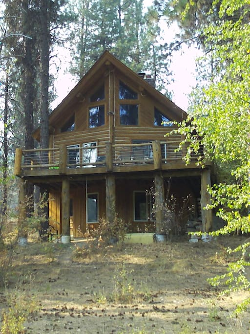 garden valley sf payette log cabin cabins for rent in