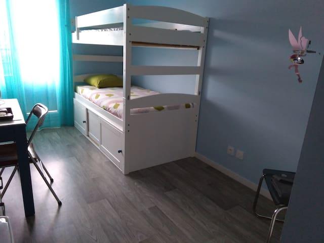 Saint malo,appartement avec balcon dans residence