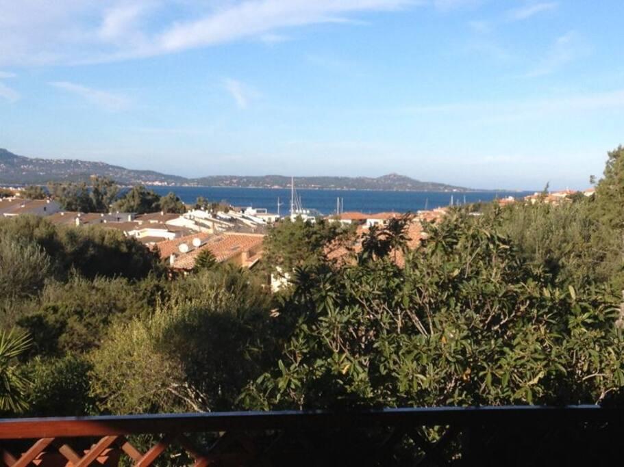 Vista mare dalla zona giorno