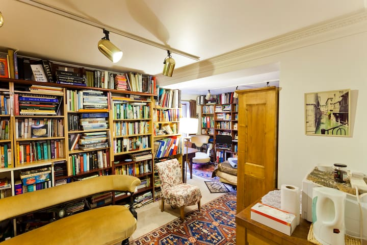 Library - bedroom and shower room - Londres