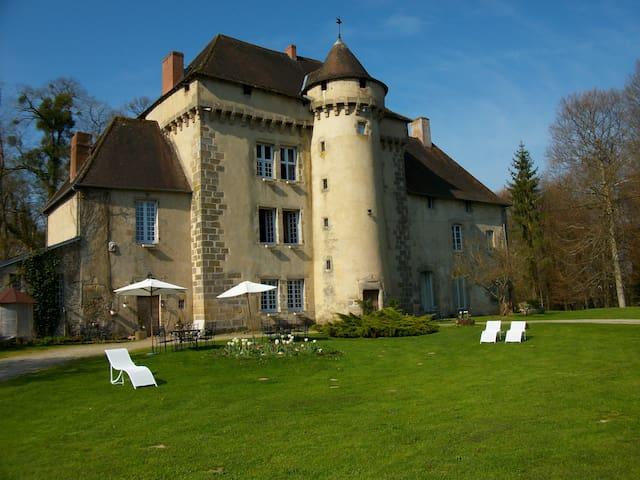 CHATEAU DE LA CHASSAGNE - Saint-Hilaire-le-Château - ปราสาท