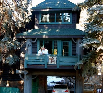 TreeHouse at the Highland Haven - Evergreen - Cabane dans les arbres