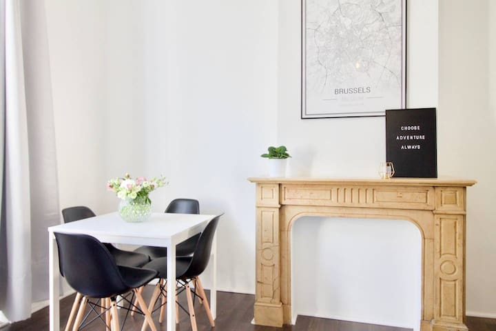 Cosy studio located in the center of Brussels