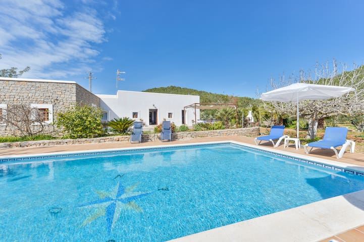 Ibiza Beautiful Country House - St Antoni de Portmany - House