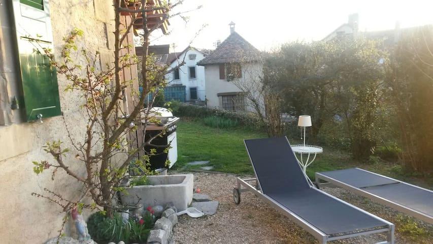 Agréable chambre d'amis avec mezzanine - Chigny - Dom