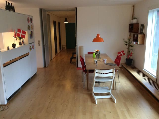 Bright and spacious apartment in Farum - Farum - Leilighet