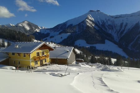 Urlaub am BergBauernhof, Nähe Salzburg, Natur pur - Gaißau - Huoneisto
