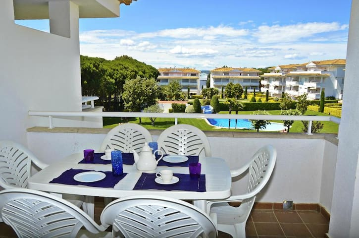 Apartment next to Golf de Pals- 6/7people-H05 - Pals - Apartemen