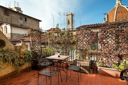 Yome - Panoramic Loft - terrace Duomo view - Florenz
