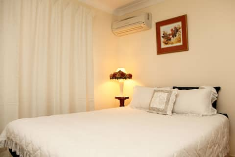Guest room Ballina free transport to Byron Bay