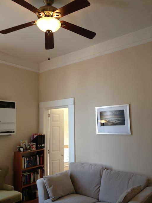 Super high ceilings