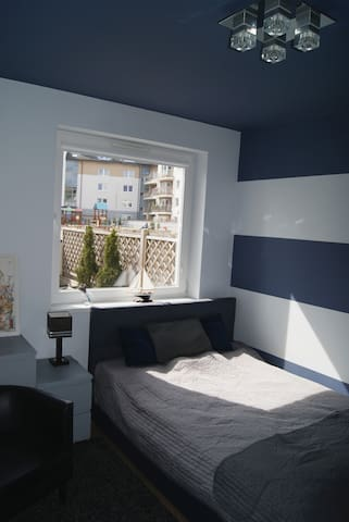 Marine Guest Room with Terrace - Gdańsk - Suite per als hostes