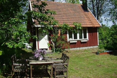 Typical swedish wooden cabin - Hässleholm - Cabana