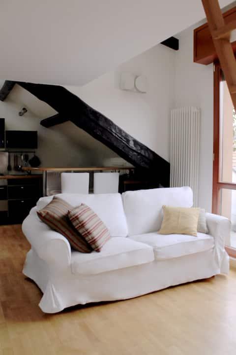 Lovely attic in Pta. Romana