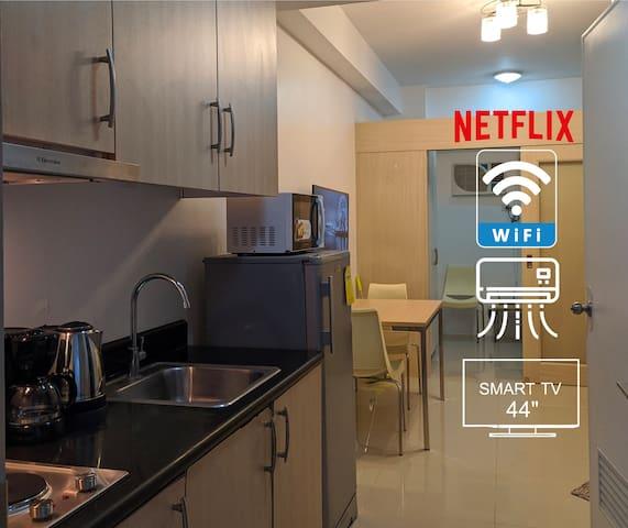Euritel @ SM Light Residences  + Netflix + Wifi