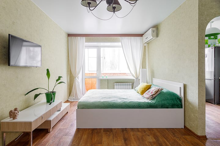 Апартаменты на Левом берегу (район ДК Кирова)