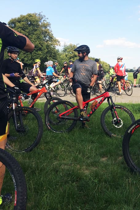 Join a local bike group on Tuesday