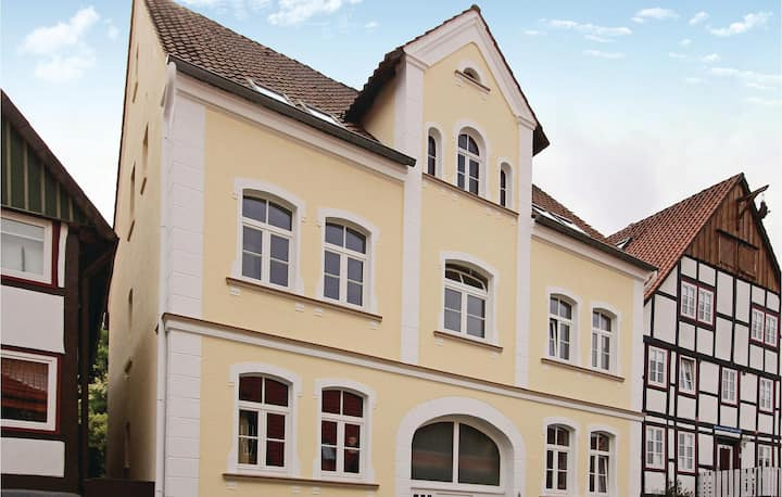 Stunning home in Schieder-Schwalenberg with WiFi and 1 Bedrooms