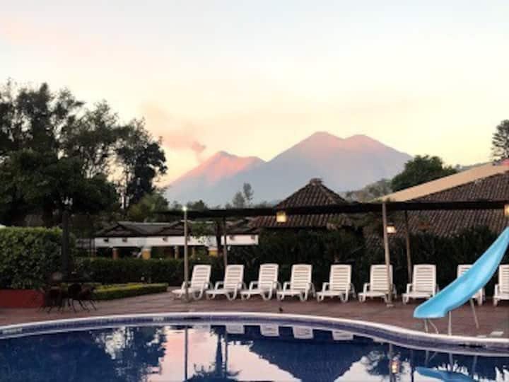 Hospedaje de clase mundial. Antigua Guatemala