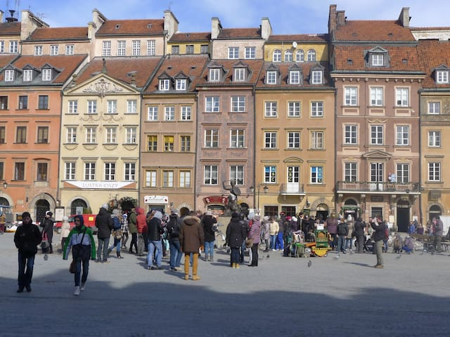 OLD TOWN SQUARE- the best VIEW - Warszawa - Lägenhet